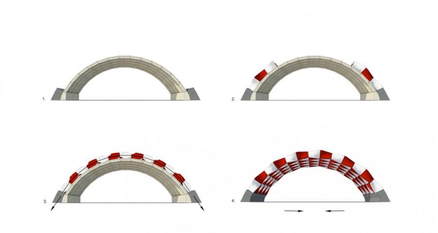 Printarch Architectural Hyper System principe de voute